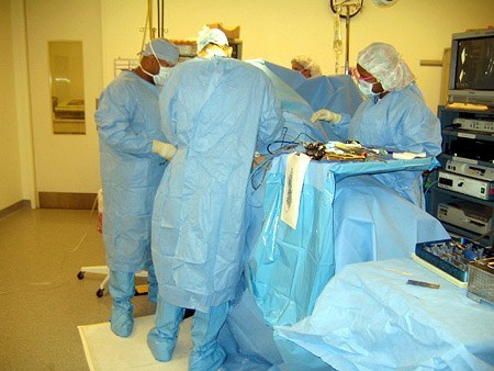 surgical team from front